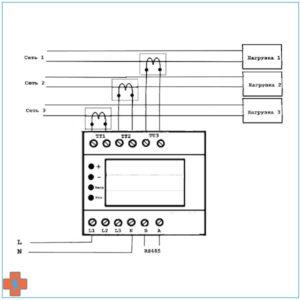 Типовая схема подключения А-05-03