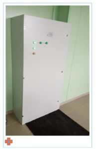 Поставка медицинского электрооборудования в 1 ЦГБ