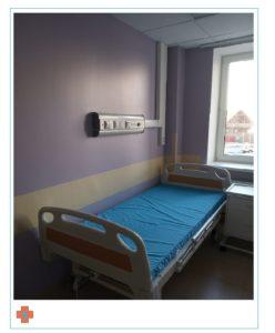 Поставка медицинских палатных консолей